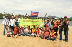 Sand is a valuable, increasingly scarce resource. Singapore, the world's largest sand importer, is fueling its building and land reclamation boom by dredging away neighboring countries' beaches, riverbeds and whole islands. Cambodian fishermen and their families are protesting the destruction and three activists have now been jailed.