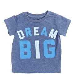 63cb608c4d85 dream big t-shirt Toddler Boy Fashion