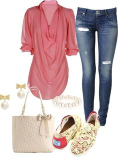 Cute! Seems like a perfect beginning-of-fall outfit!