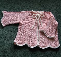 Hand Knitting Tutorials: Knitted Baby Set - Free Pattern