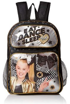 Nickelodeon Girls' Jojo Backpack: This backpack features the hit sensation jojo siwa. Front pocket and two side mesh pockets provide extra storage. Back and shoulder straps are padded for comfort. Jojo Siwa Bows, Jojo Bows, Jojo Siwa Outfits, Jojo Siwa Birthday, 10th Birthday, Birthday Ideas, Amazon Girl, Barbie Doll Set, Nickelodeon Girls