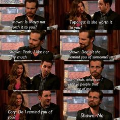 "#GirlMeetsWorld 1x18 ""Girl Meets Master Plan"" - Topanga, Cory and Shawn"