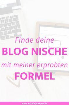 Finde deine einzigartige Blog Nische mit meiner erprobten Blogger Formel und erfahre, warum die richtige Nische so essentiell ist.