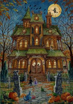 Every Halloween when we would trick o treat there was ONE house that was always decorated and scary..Where was it??