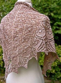 Ravelry: Iolanthe Shawl pattern by Dee O'Keefe