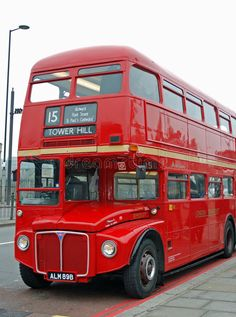 Photo about View of an old and classic Bus from London. Image of people, catalog, transportation - 8962523 East End London, Routemaster, Veteran Car, Double Decker Bus, Stock Image, London Bus, London Transport, Automobile, Busses