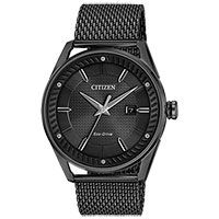 Citizen Drive from Eco-Drive Men's CTO Watch in Black Stainless Steel with Black Mesh Strap Black Stainless Steel, Stainless Steel Bracelet, Cool Watches, Watches For Men, Men's Watches, Citizen Watches, Wrist Watches, Sport Watches, Luxury Watches