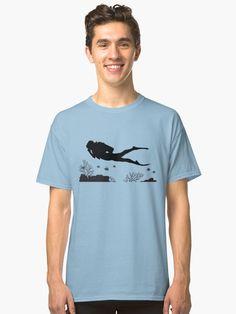 d009f822d a Scuba diver | Classic T-Shirt