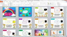 Media Pembelajaran Matematika Mengenai Materi Bangun Datar untuk SD dengan PowerPoint