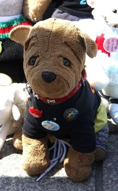 *REWARD* LOST in the French Market corner of Gov Nichols and French Market Pl in the French Quarter New Orleans right next to the French Market, Sept 28. Winston Von Bark, this cuddly lost toy dog, was accidentally dropped, and when his family realized what happened and went back to where he was dropped, he was gone. His family desperately want to get him back. Please contact us if found https://www.facebook.com/TeddyBearLostAndFound