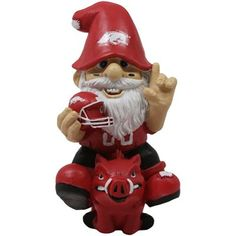 Arkansas Razorbacks Gnome