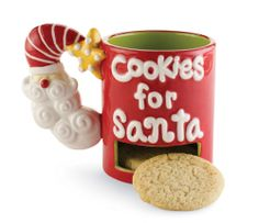 Cookies For Santa Cocoa Cup