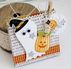 Trick Or Treat Gift Bag by Melissa Phillips for Papertrey Ink (August 2016)