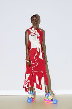 Colville Spring 2021 Ready-to-Wear Collection - Vogue Lux Fashion, Black Girl Fashion, Unique Fashion, Fashion News, Spring Fashion, Fashion Show, Fashion Looks, Fashion Design, Fashion Trends