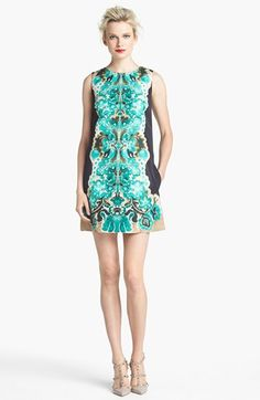 RED Valentino 'Marzipan Print' Shift Dress available at #Nordstrom