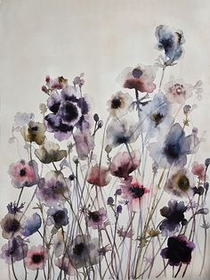 Watercolour by Lourdes Sanchez