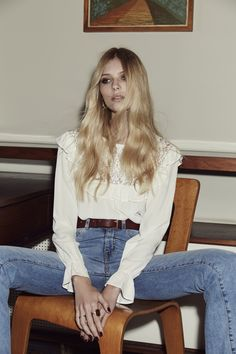 FOR LOVE & LEMONS - Vivian Blouse - Ivory