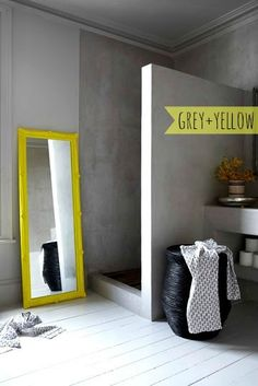 HOME-TROTTER: YELLOW DETAILS - INTERIORS INSPIRATION