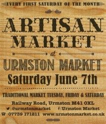 Urmston Market have mighty posters - we love 'em here at LYLM HQ