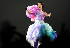 2010年の公演で歌う宇多田ヒカルさん=村上宗一郎氏撮影