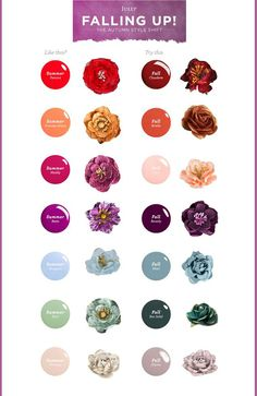 Fall fashion hues are here..and they are simply GORGEOUS! We've paired a few of our favorite Prima flowers with @julepmaven 's new fall shades of nail polish for a beautiful match made in heaven! Aren't these new shades sweet? Don't stop with just updating your nails though! Grab a Prima flower, or two, and accessorize a pin, bracelet, necklace, purse, or hair clip, for a stunning and fashionable effect! You'll be turning heads everywhere you go! #fallshades #Julep