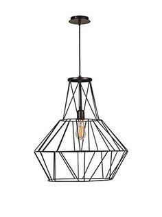 Light Up Lámpara De Suspensión Negro