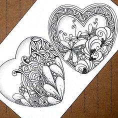 #zentangle #Zen #zendoodle #zentangleart #partten #artwork#thedoodlenotebook #featuregalaxy #hearttangles#illustration #penillustration#czt22#arttherapy#czt# coast·er#3z