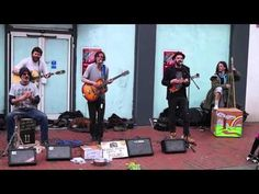 Satirical Musicians From Phat Bollard Perform Their Song 'Millionaire' In Reading