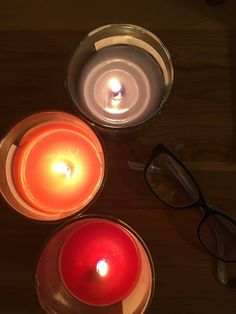 Day 6 - warmth #iamgrateful #photochallange #candles #glasses #home