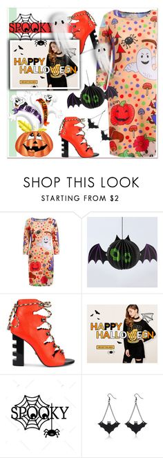 """""""Rosegal Halloween Giveaway"""" by paculi ❤ liked on Polyvore featuring Kat Maconie, Halloween and giveaway"""