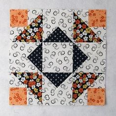 Aunt Dinah Quilt Block Free Pattern - Welcome to our website, We hope you are satisfied with the content we offer. Quilt Blocks Easy, Quilt Block Patterns, Pattern Blocks, Fabric Patterns, Nancy Zieman, Bonnie Hunter, Nine Patch, Quilt Festival, Twinkle Twinkle Little Star