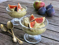 Krem Awokado & Jabłko / Apple Avocado Mousse (raw vegan)