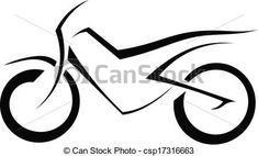 silhouette motorcycles - Google Search