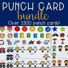 It amazing how much power a simple punch card can hold! Here are 6 ways that you can start incorporating punch cards into your classroom today! My students find them highly motivating and it is a great incentive for students! Click to find out more! Behavior Management System, Behavior Rewards, Classroom Management, Attendance Incentives, Attendance Ideas, Kindergarten Goals, School Fun, School 2013, School Stuff