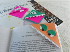 Monsters bookmark tutorial =D    https://www.youtube.com/watch?v=qh55YAzjSwA&feature=youtu.be
