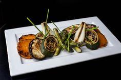 Segundo plato, opción vegetariana. Parrillada de verduras de temporada. Sefarad