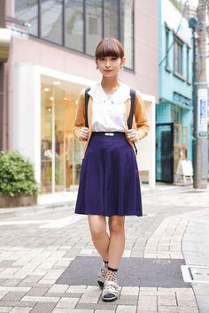 【ストリートスナップ】@Tracy Street of Harajyuku, Tokyo Fashionsnap.com   Fashionsnap.com