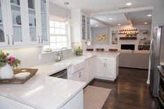 gorgeous kitchen // open concept // HGTV Fixer Upper