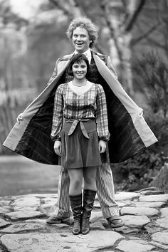 The Sixth Doctor (Colin Baker) and Peri Brown (Nicola Bryant) - 1984 to 1986.