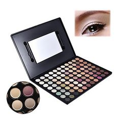 Pro 88 Warm Color Fashion Eye Shadow Palette Profession Makeup Eyeshadow A 796  – USD $ 11.99