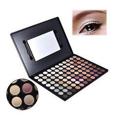 [CyberWeekSale]Pro 88 Quente Color Fashion Paleta de Sombra Profissão Makeup Eyeshadow A 796 – BRL R$ 29,17