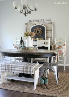 Fall Dining Room + 3 Tips for Fighting Through Decorating Dilemmas - House by Hoff