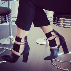 Step it up in #AlexanderWang! #ShoeTime #zappos