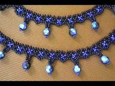 "Колье из бисера ""Элегантная простота"" Мастер класс / Necklaces of beads. Beading - YouTube"