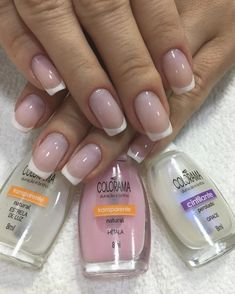 53 ideas for nails art french manicure ongles French Nail Designs, New Nail Designs, Art Designs, Design Ideas, Simple Pedicure Designs, Gel Nails French, French Polish, French Toes, French Manicures