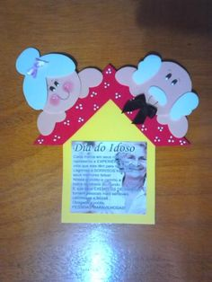 Invitation Cards, Invitations, Grandparents Day, Projects To Try, Education, Christmas Ornaments, Holiday Decor, Disney, Frame