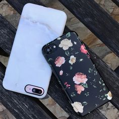 Beautiful morning ⚪️ Dark Rose & Ivory White for iPhone 7 & iPhone 7 Plus from Elemental Cases