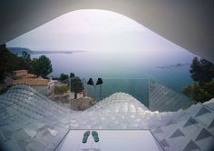 La casa sulla scogliera con vista mozzafiato sul Mar Mediterraneo