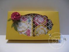 3x3 Note Cards and Mints Box