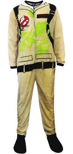 WebUndies.com Ghost Busters Dr Venkman Uniform Footie Onesie Pajamas
